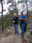 Hot Springs National Park Goat Rock Ginger,Rickey & Lady