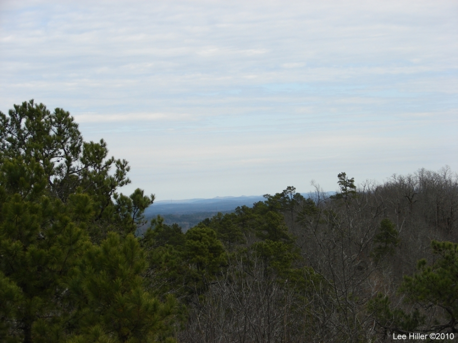 Hot Springs National Park - North Mountain Overlook View