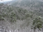 Hot Springs National Park Ice Snow Goat Rock View