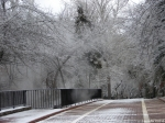 Hot Springs National Park Ice Snow Promenade