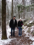 Hot Springs National Park Ice Snow Short Cut Trail Cody Brittnay