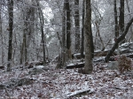 Hot Springs National Park Ice Snow Short Cut Trail Grave Yard