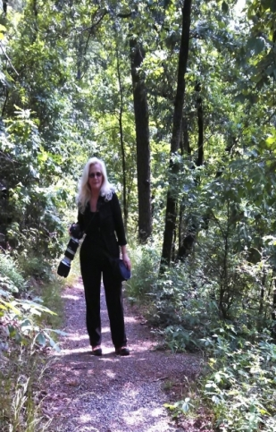 Lee Hiller Hiking in Hot Springs National Park, Arkansas
