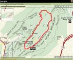 Hot Springs Mountain Trail - Map