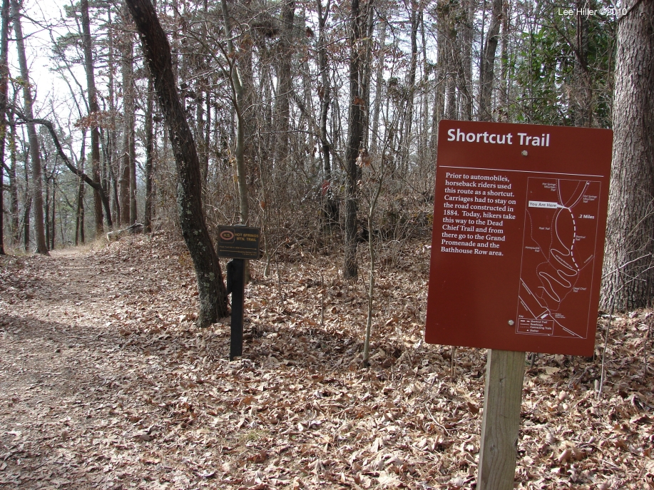 Hot Springs Mountain Trail - Trail Start