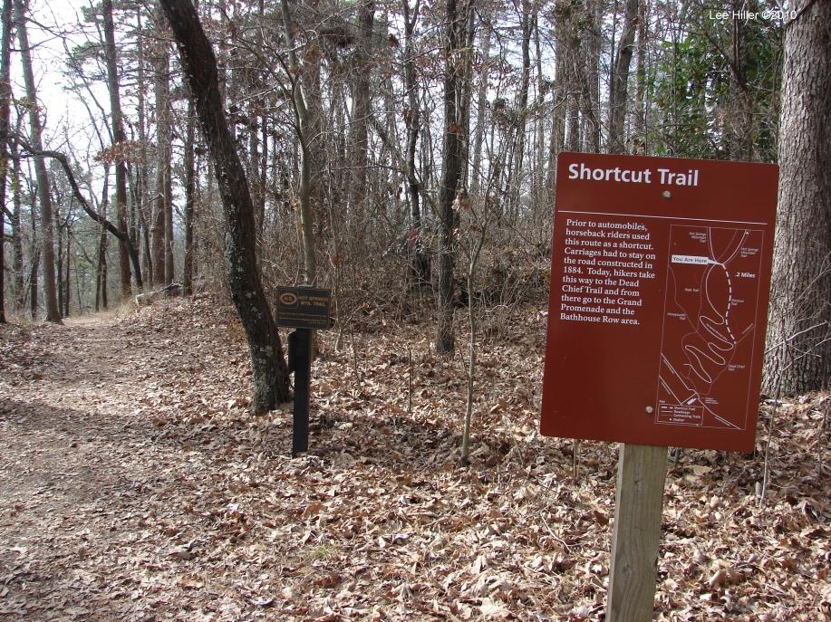 Hot Springs Mountain Trail - Trail Start