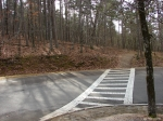 Hot Springs Mountain Trail - Second Section - Road Crossing