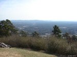 Hot Springs Mountain Trail - View From Pagoda