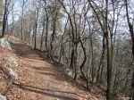 Hot Springs Mountain Trail - First Section