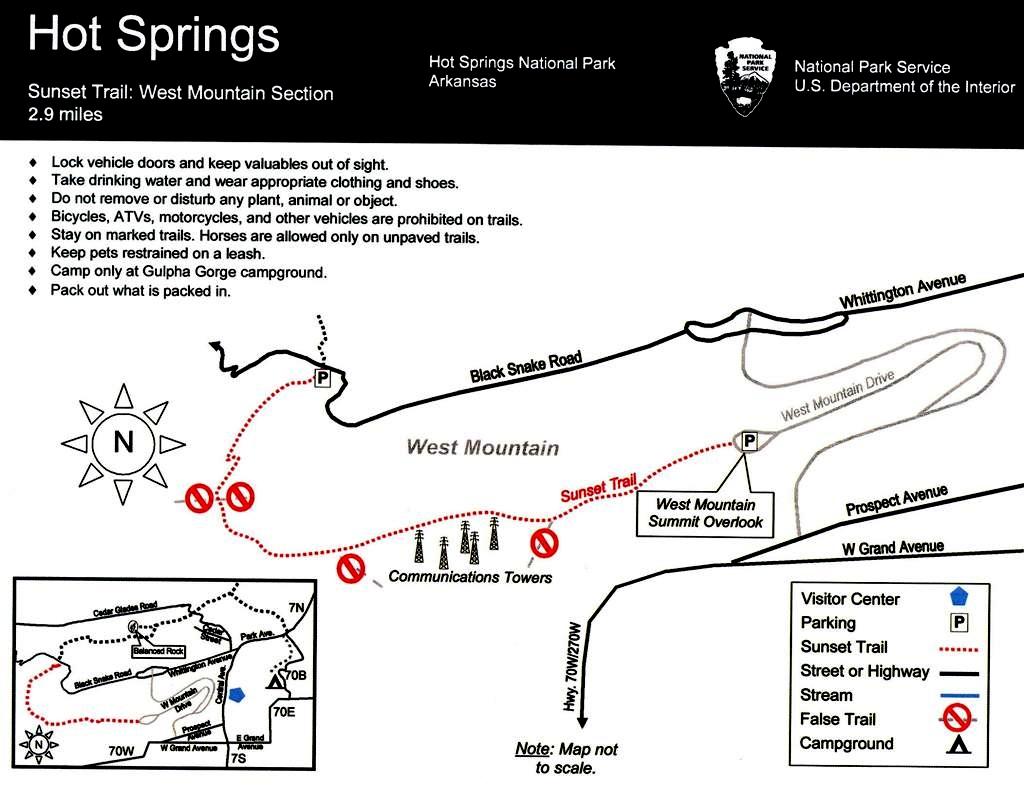 Gulpha Gorge Trail Hike Our Planet HikeOurPlanet