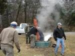 Hot Springs National Park Trails USGS adding temp probes