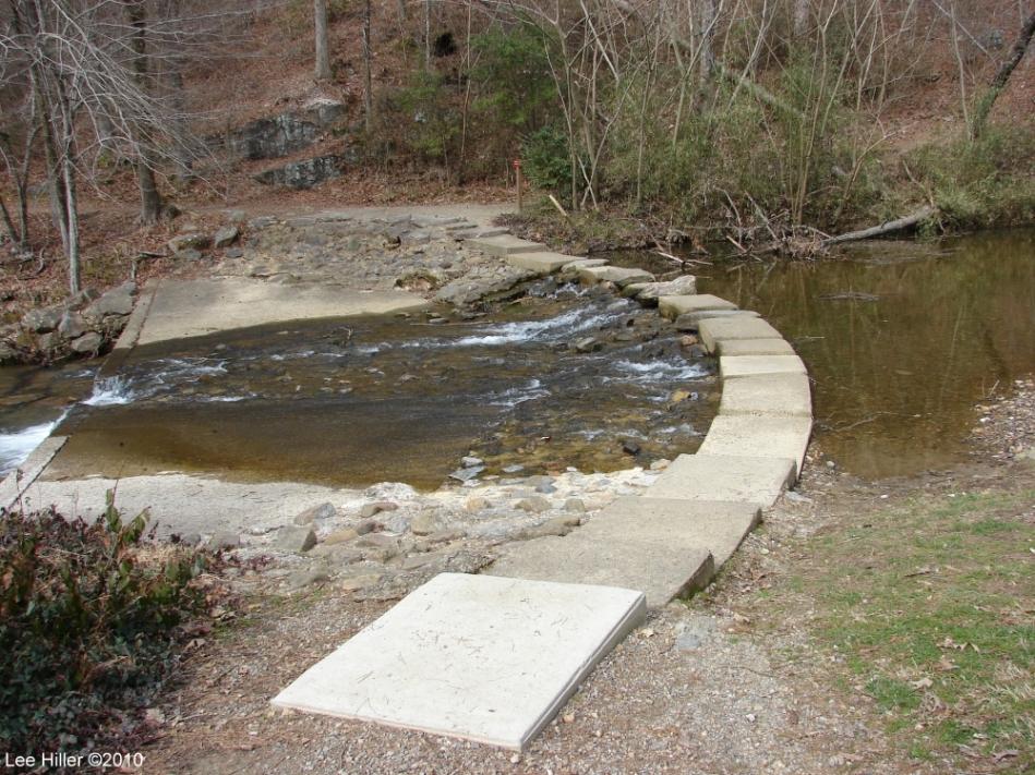 Hot Springs National Park Trails Gulpha Gorge Creek