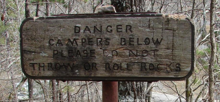 Hot Springs National Park Gulpha Gorge Do Not... Sign