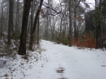 Hot Springs National Park Trails Snow Dead Chief Trail