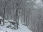 Hot Springs National Park Trails Snow HS Mountain Trail