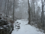 Hot Springs National Park Trails Short Cut Snow