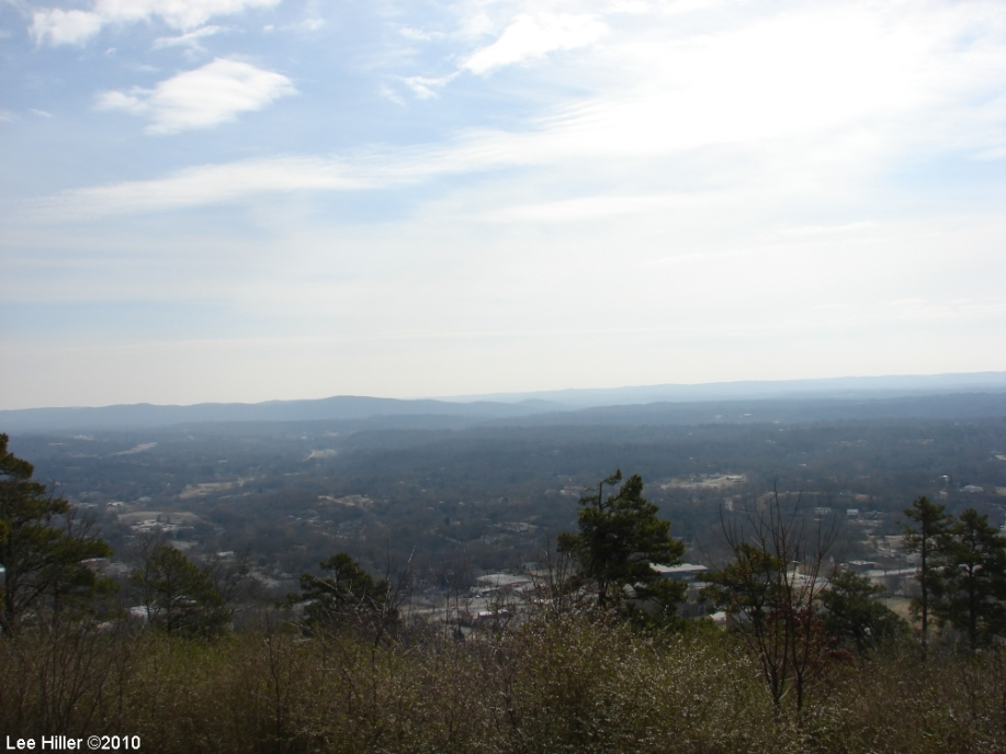 Hot Springs Mountain Trail East Pagoda View