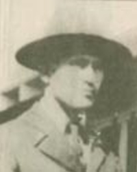 National Park Service Ranger James Alexander Cary
