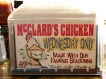 Hot Springs AR McClards BBQ Chicken Wednesday