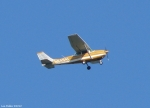 Tufa Terrace Yellow White Plane 1969 CESSNA