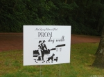 Promenade Dog Walk Sign