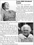 My Moms Obituary
