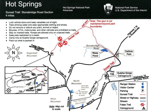 Stone Dams, Bridges and Water Falls Along New Trails