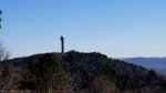 West Mountain View Of Hot Springs Mountain Tower