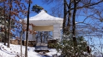 Hot Springs Mountain Trail Pagoda Snow