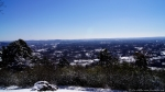 Hot Springs Mountain Trail Pagoda View Snow