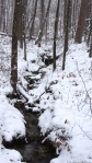 Hot Springs Mountain Trail Snow Creek
