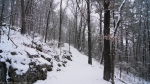 Hot Springs National Park Short Cut Trail Snow