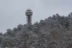 Hot Springs Mountain Tower Snow