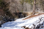 Hot Springs National Park Ricks Pond Dam Snow
