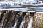Hot Springs National Park Ricks Pond Dam Snow