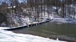 Hot Springs National Park Ricks Pond Dam Ice Snow