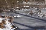 Hot Springs National Park Ricks Pond Marsh Ice Snow