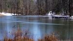 Hot Springs National Park Ricks Pond Ice Snow