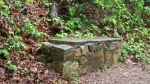 HSNP Lower Dogwood Trail Earth Day Vandalized 1914 Bench
