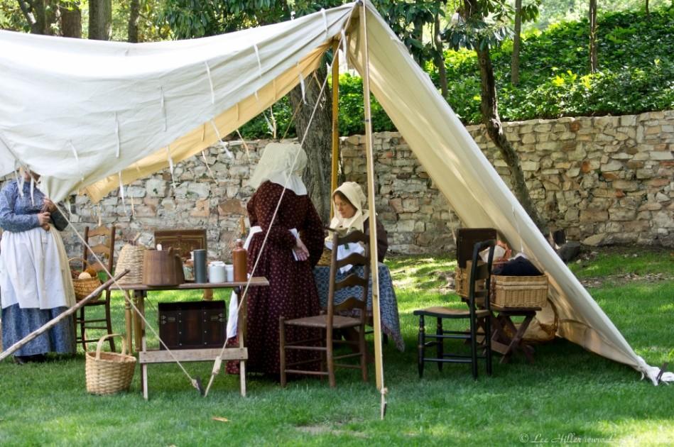 Hot Springs National Park Arlington Lawn Civil War Day