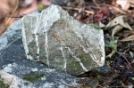 HSNP West Mt Oak Trail Quartz Vein Zen Rock