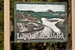 Lake Ouachita State Park Sign