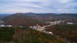 HSNP Hot Springs Mountain Tower View of Historic District