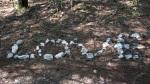 Cedar Glades Park Blue Trail Quartz Rock LOVE