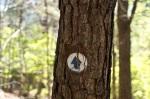 Cedar Glades Park Blue Trail Marker