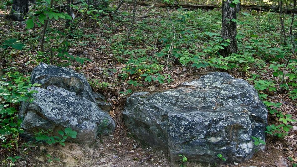 HSNP Peak Trail Park Bench aka Rocks