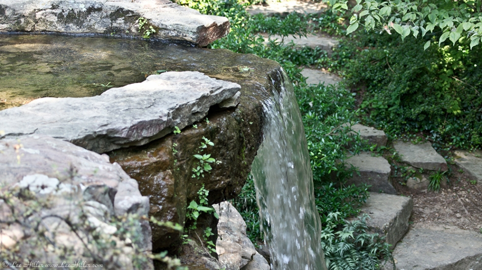 Garvan Woodland Gardens Arkansas Waterfall