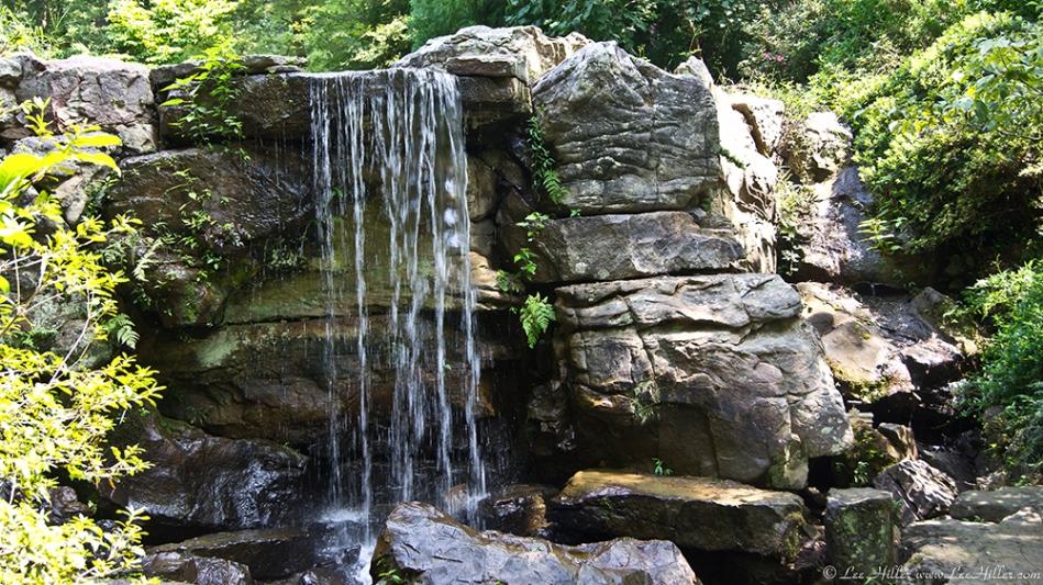 Garvan Gardens Garden of the Pine Wind Waterfall