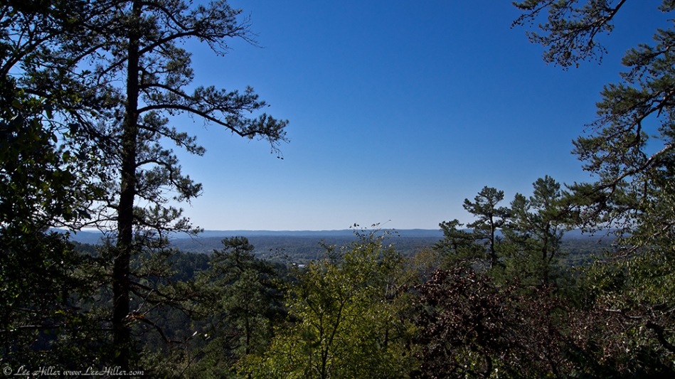 HSNP Goat Rock Trail View Ouachita Moutains