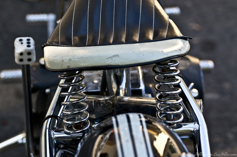 HSNP Fountain Street Motorcycle Seat